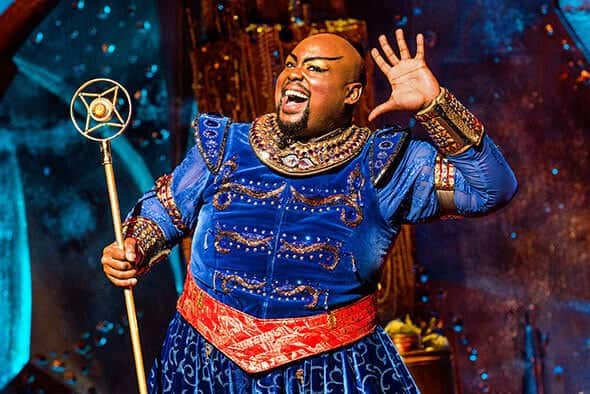 <p>It takes 180 people to deliver each performance of ALADDIN.