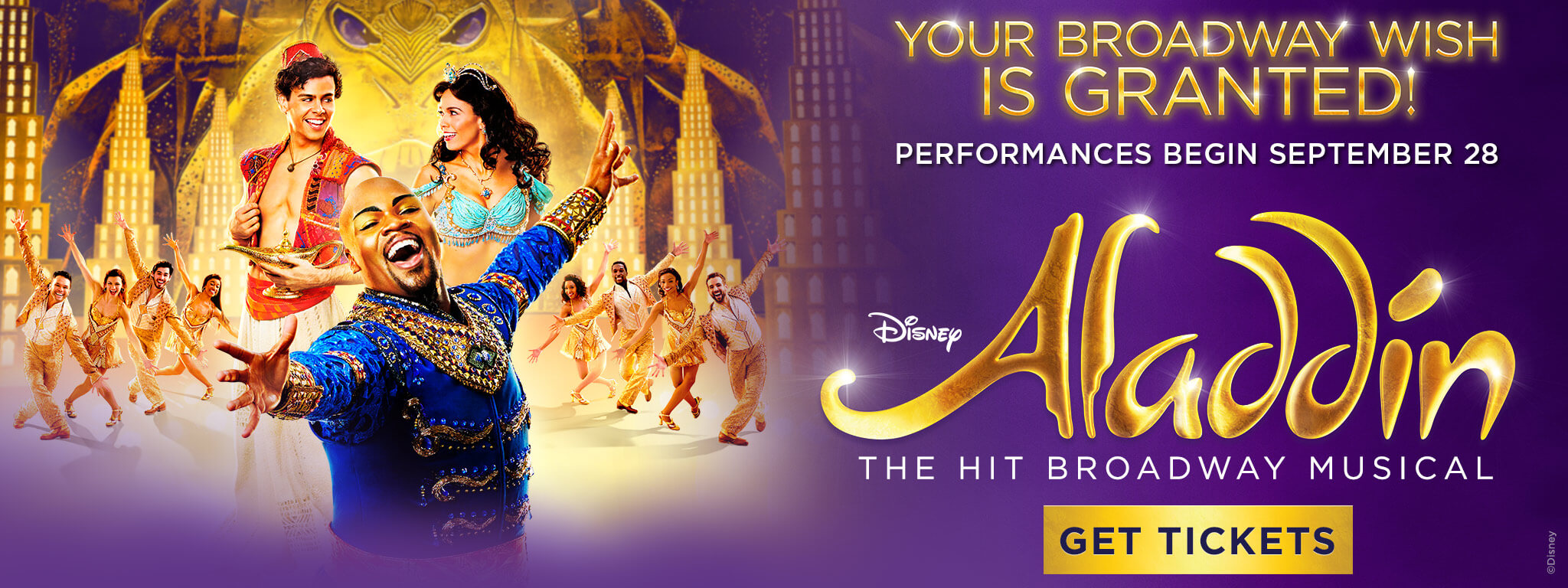 Your Broadway Wish Is Granted! Performances Begin September 28 - GET TICKETS