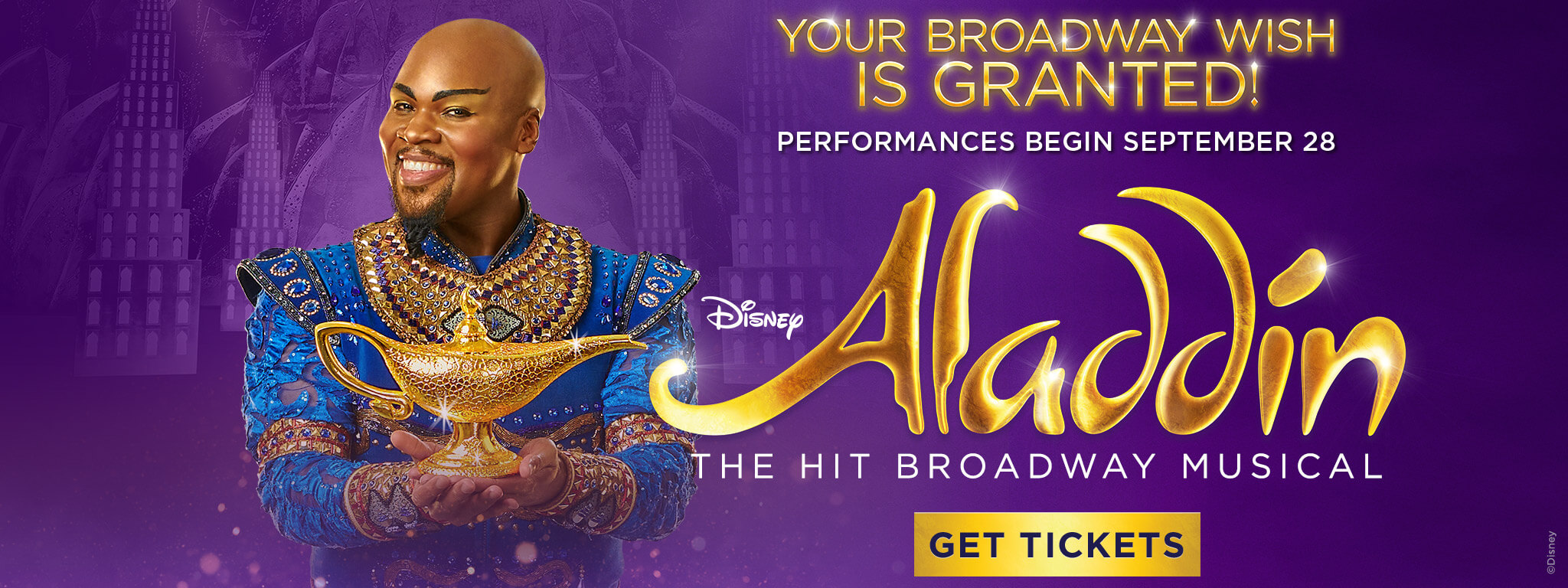 Your Broadway Wish Is Granted! Performances Begin September 28